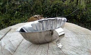 French stainless sauce gravy boat