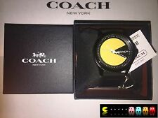 COACH x PACMAN Limited Edition PACMAN Wrist Watch New Sold out in store