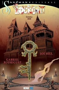 LOCKE & KEY SANDMAN HELL & GONE #0 IDW DC 12/9/20 FREE SHIPPING AVAILABLE