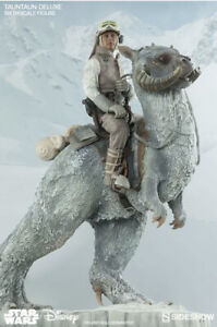 Sideshow Collectibles~Star Wars~TAUNTAUN Deluxe~1/6th & Commander Luke Skywalker