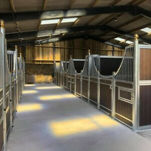 Internal Stables   Inc Doors Partitions & Boards   Many Sizes & Styles Available
