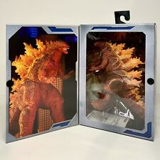 """NEW! NECA Burning Godzilla - 2019 KING OF THE MONSTERS - 12"""" Head To Tail Figure"""