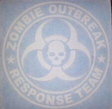 "Zombie Outbreak Response Team 5"" Vinyl Decal sticker windows"