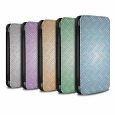 Metallic Mobile Phone Flip Cases for Samsung Galaxy S8