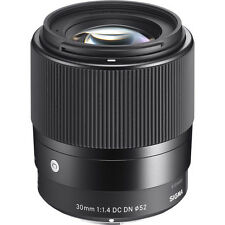 Sigma 30mm F1.4 DC DN C Contemporary Lens Micro Four Thirds Cc1305