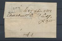 1812 Lettre Marque Déboursé DEB.62/BILLOM PUY DE DOME(62) Superbe. P2733