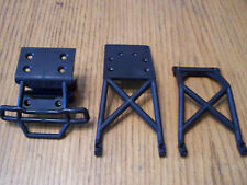 Traxxas 2wd XL-5 VXL Stampede Front Bumper Skid Plate Set Chassis Braces Bigfoot