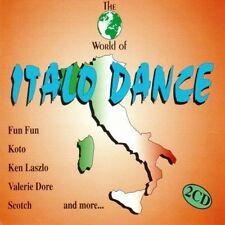 Italo Dance-The World of (#zyx11006, incl. Maxis) Fun Fun, Koto, Ken La.. [2 CD]