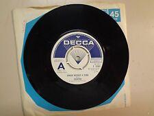 "CHOPPER: Singer Without A Song-I Think I'm A Man-U.K. 7"" 1971 Decca F 13161 Demo"