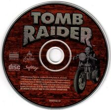 Tomb Raider Demo & More (PC-CD, 1998) for Windows 95/98 & DOS - NEW CD in SLEEVE