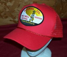 John Wayne Hellfighters Cap Hat Red Adair Oil Field Well Blowouts  Firefighting 1b8d2cf09c69
