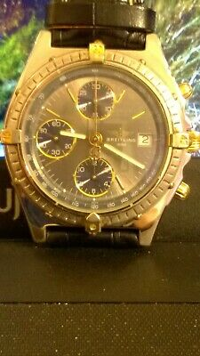 orologio breitling chronomat oro/acciaio meccanico/automatico vintage