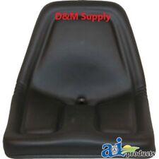 Black Michigan Style seat to fit  John Deere Gator seat