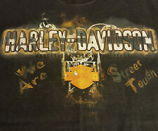 Harley Davidson Santa Cruz Ca T Shirt Medium GUC Motorcycle HD OOP INV1191