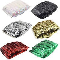 10 Yd Elastic Sequin Applique Trimming Stretch Sequin Lace Tape DIY Sewing Craft