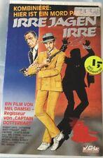 VHS Irre jagen Irre (1987) FSK 12 Komödie von Mel Damski mit Robert Hays