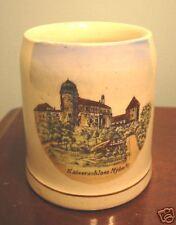 miniature pottery beer stein souvenir Kaiserschloss