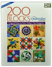 Quilting Book 200 Blocks Original Patterns MCB1148