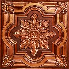 Tin Look Decorative Ceiling Tile #206 Antique Copper DIY Drop In /Glue Up 50 pcs
