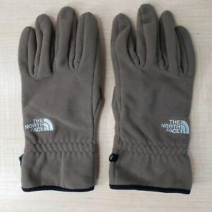 The North Face Windstopper Gloves Men's Large Brown Fleece TNF