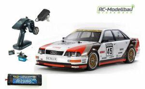 Tamiya 300058682 1:10 RC Audi V8 Tourenwagen (TT-02) Sparset Komplett-Set