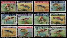 Guinea 1964 - Mi-Nr. 214-225 A ** - MNH - Fische / Fish