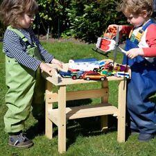 Pflanztisch für Kinder Kindertisch Spieltisch Blumenhocker Holz massiv Garten