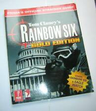 Prima's Official Strategy Guide to Tom Clancy's Rainbow Six Gold Edition (1999)