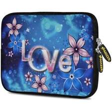 "AMZER 10.5"" Neoprene Sleeve Case Cover For Tablet Netbook - Peony Love Lasts"