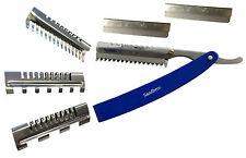 Professional Hair Thinning, Cutting Razors 4 Hairdressers Barbers ThR1 +3 Combs