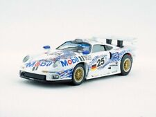 1/43 Porsche 911 GT1 #25 Diecast Car Metal Racing Toy collection limited White