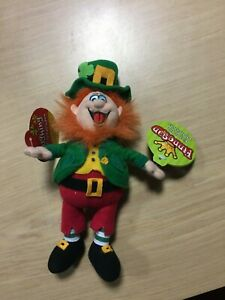 Peluche pupazzo KING OF THE  LEPRECHAUNS cm 24 IRELAND IRLANDA