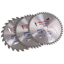 "Pack of 3   ~  235 mm - 9 1/4 "" TCT Cutting Saw Disc / Blades"