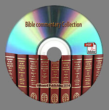 The Pulpit, John Gill, Nt Lutheran, Bible Commentary, Dictionary Books On DVD