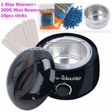 Depilatory Wax Warmer Heater +Hard Wax Bean+10 sticks Professional Hair Removal