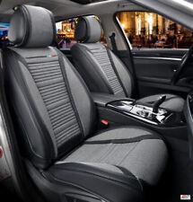 Pour VW Golf 6 7 Simili Cuir & Gris Tissu Respirant Luxe Avant