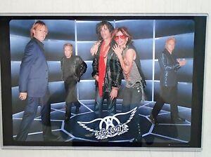 Aerosmith / Orig. Promo Poster / Exc. New  / 11x17