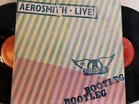 Aerosmith – Live! Bootleg 2x LP 1978 Columbia PC2 35564 VG