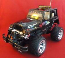 Nikko Jeep Wrangler 1/10 Scale RC Truck 27MHz with Transmitter-Battery-Chargers