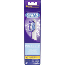 Braun Oral-B Pulsonic 4er Aufsteckbürsten