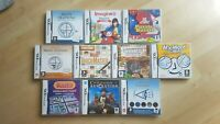 Nintendo DS PUZZLE Games Bundle - 10 games for your brain and for fun