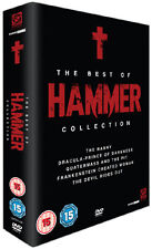 THE BEST OF HAMMER COLLECTION - DVD - REGION 2 UK