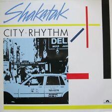 SHAKATAK - CITY RHYTHM  - LP