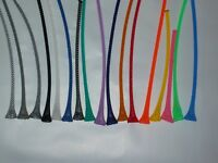 """1/4"""" BRAIDED EXPANDABLE SLEEVING - 5 THRU 25 FEET -- MADE IN THE USA"""