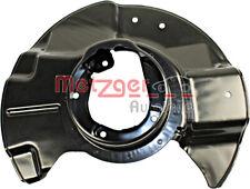 METZGER Brake Disc Splash Panel Front Right For BMW E31 E32 E34 34111159918