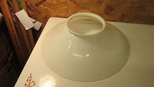 Antique Milk Glass Gas Kerosene Shade  15 3/8""