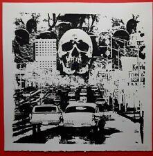 art print,signed print, punk art,gothic,sci-fi,Silkscreen,vintage horror,Poster
