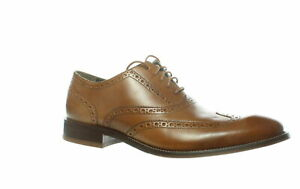 Cole Haan Mens Williams British Tan Wing Tips Size 9 (1539279)