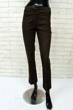 Pantalone Donna MARIELLA BURANI Taglia 40 Jeans Cotone Corto Slim Fit Elastico