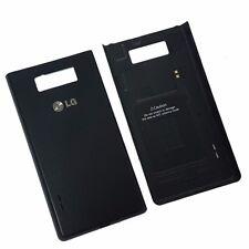 Genuino Original batería cubierta trasera para LG Optimus L7 P700-Negro